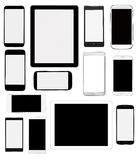 Abbildung für Auslegung auf weißem Hintergrund Stockfotos
