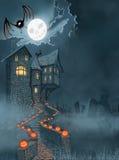 Abbildung für Halloween stockfotografie