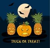 Abbildung für Halloween Lizenzfreie Stockbilder