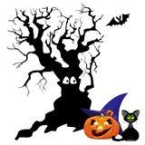 Abbildung für Halloween stock abbildung