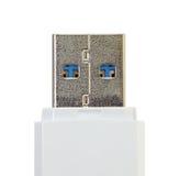 Abbildung getrennt auf weißem Hintergrund Stockfotos