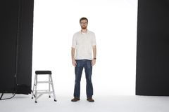 Abbildung im Studio Stockfotos