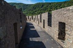 Abbildung kann als Hintergrund benutzt werden Reichenstein-Schloss, Deutschland Lizenzfreie Stockfotografie