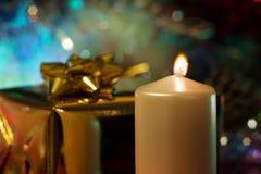 abbildung Kerze des neuen Jahres Stockbilder
