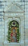 Abbildung Kloster in der griechischen orthodoxen Kirche Stockfoto