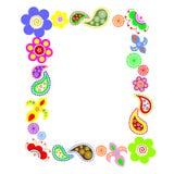 Abbildung mit Blumen Lizenzfreie Stockbilder