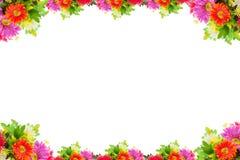 Abbildung mit Blumen Lizenzfreies Stockbild