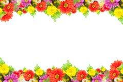 Abbildung mit Blumen Stockbild