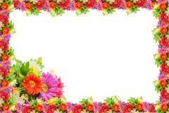 Abbildung mit Blumen Stockfotografie