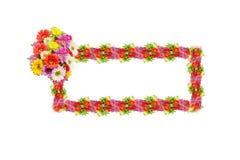 Abbildung mit Blumen Lizenzfreie Stockfotografie