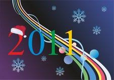 Abbildung mit einem Weihnachtsthema Stockfoto
