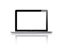 Abbildung Prolaptops 2012 Apple-des neuen Mac-Buches Stockbild