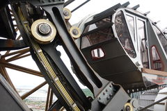 Abbildung 8-Riesenrad, Studio-Stadt, Macau Stockbild