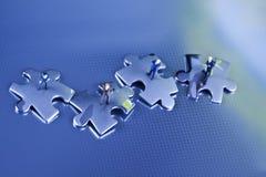 Abbildung und Puzzlespiel Stockfoto
