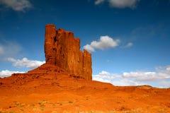 Abbildung vollkommen im Denkmal-Tal Arizona Stockbilder