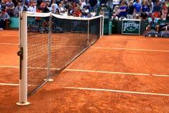 Abbildung vom Gericht bei Roland Garros 2012 Stockfotos
