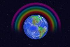 Abbildung von Erde Lizenzfreie Stockfotografie