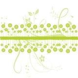Abbildung von grünem Blumen Lizenzfreie Stockbilder