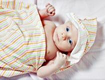 Abbildung von neugeborenen ein stillstehen Lizenzfreie Stockfotos