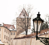 Abbildung von Prag-Schloss Lizenzfreie Stockfotos