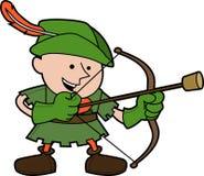 Abbildung von Robin Hood Lizenzfreies Stockbild