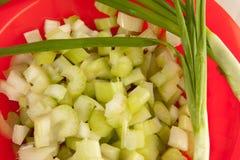 Abbildung von salat Lizenzfreies Stockbild