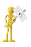 Abbildung wuith Verkaufs-Zeichen Lizenzfreie Stockfotos