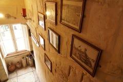 Abbildungen auf der Wand Lizenzfreie Stockbilder