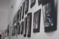 Abbildungen auf der Wand Stockfotos