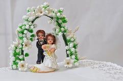 Abbildungen der Braut und des Bräutigams Lizenzfreie Stockfotografie