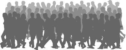 Abbildungen der Leute Stockbilder