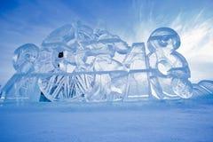 Abbildungen vom Eis Stockfotografie
