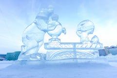 Abbildungen vom Eis Lizenzfreies Stockbild