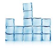 Abbildungen vom Eis Stockfoto
