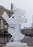 Abbildungen vom Eis Stockbild