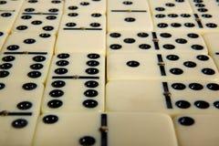 Abbildungen vom gelben Domino Lizenzfreie Stockfotografie
