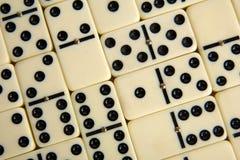 Abbildungen vom gelben Domino Lizenzfreies Stockfoto