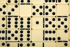 Abbildungen vom gelben Domino Lizenzfreie Stockfotos