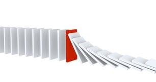 Abbildungen von Dominos Vektor Abbildung