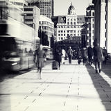 Abbonati a Londra fotografie stock