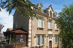 Abbot Sauniere house,  rennes le chateau city Stock Images
