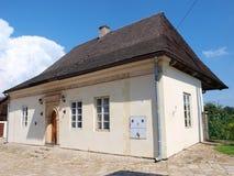Abbotar inhyser, Koprzywnica det kloster- komplexet, Polen Arkivfoton