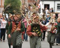 Abbots Bromley Horn Dance Stock Photos