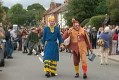 Abbots Bromley Horn Dance Stock Image