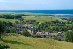 abbotsbury多西特英国村庄 免版税库存图片