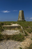 Abbotsbury Castle Trig Point 1 Royalty Free Stock Photos