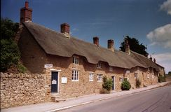 Abbotsbury, Dorset. Village in England Royalty Free Stock Image