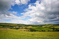 Abbotsbury and Surrounding Countryside Royalty Free Stock Photos