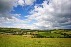 Abbotsbury und umgebende Landschaft lizenzfreie stockfotos