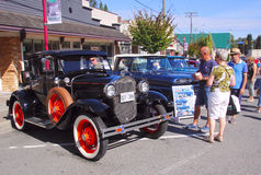 2015 Abbotsford Car Show Stock Photography